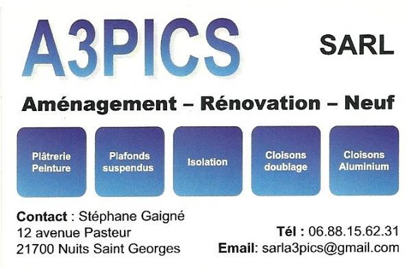 Carte a3pics