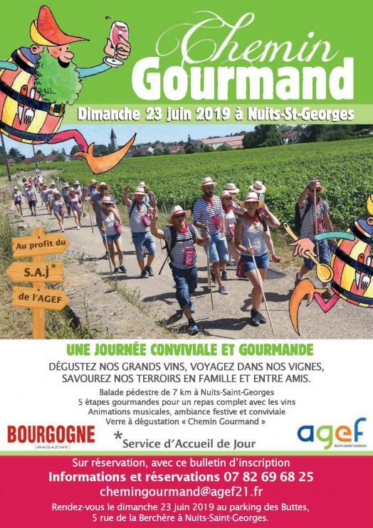 Chemin gourmand 2019