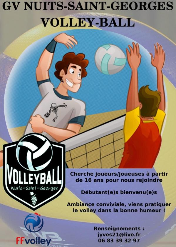 Volley-ball recrutement